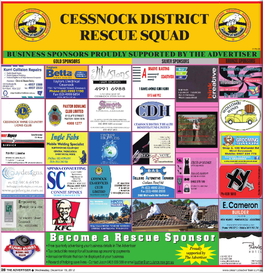 Business District Rescue Squad - December 2012